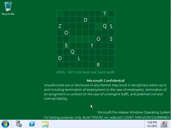 Windows 8 se lanzará en el verano siguiente
