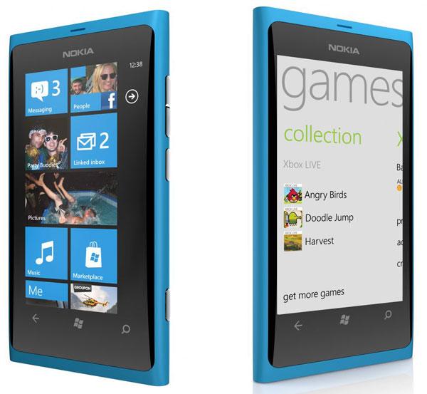 Nokia Lumia 800 se lanza en San Valentin