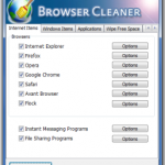 Borra tu historial con Browser Cleaner