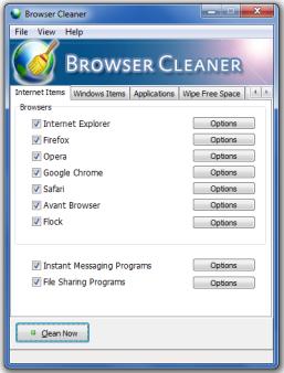 Borra tu historial con Browser Cleaner