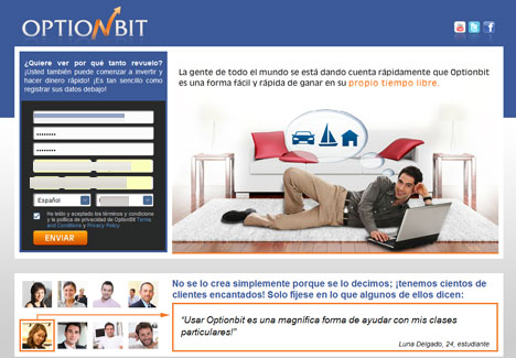 Opciones binarias optionbit