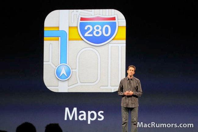 Errores en el Apple maps de iOS 6