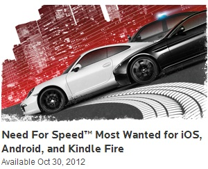 Need For Speed: Most Wanted disponible para Android
