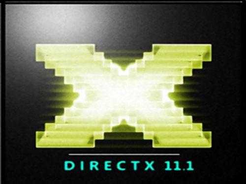 DirectX 11.1 solo para Windows 8