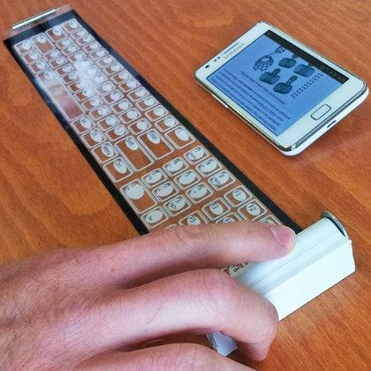 Qii, teclado plegable para dispositivos táctiles