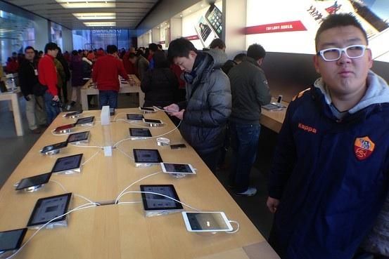 Gran demanda del iPad Mini en China.