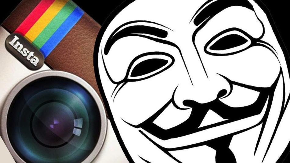 Anonymous ayudará a boicotear instagram