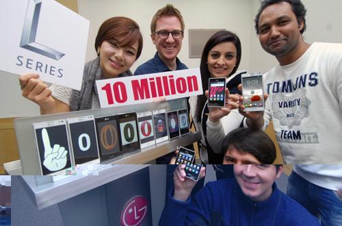 LG L-Series ha vendido 10 millones de unidades