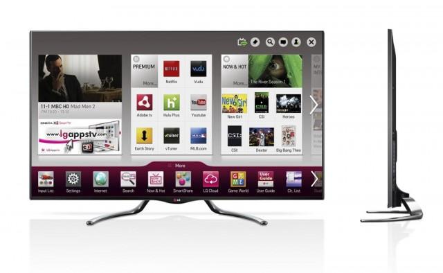 LG presentará nuevos Google TV en el CES 2013