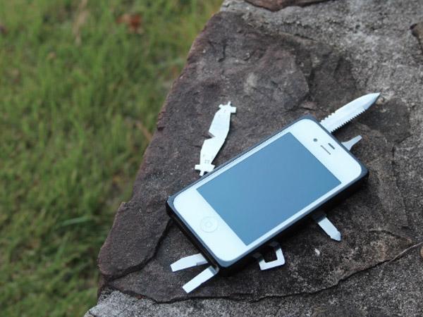 TaskOne: Una carcasa de iPhone para MacGyver