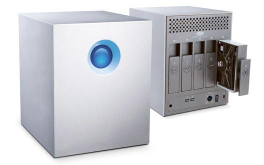 LaCie presenta el 5big NAS Pro y RAID Thunderbolt 20TB