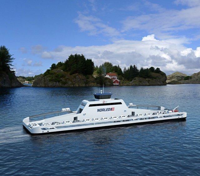En el 2015 un Ferry que funciona con electricidad navegara por Noruega