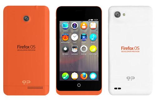 Firefox lanza un smartphone con Firefox OS para desarrolladores