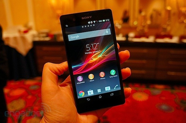 Sony Xperia Z va a la FCC