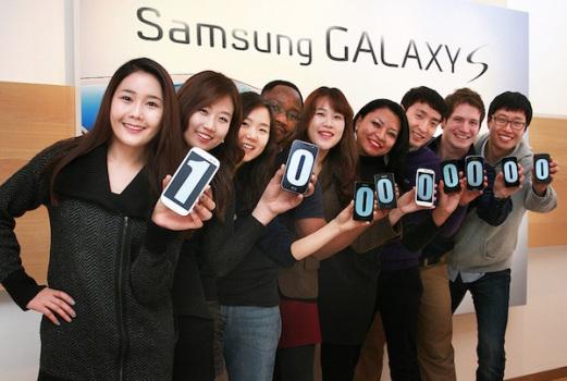 Samsung vende 100 millones de Galaxy S