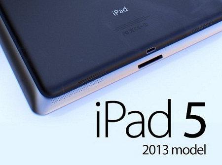 iPad 5 llegará en octubre