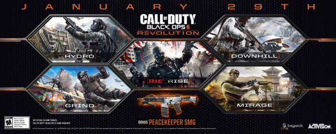 Se filtra el DLC para Call of Duty: Black Ops II