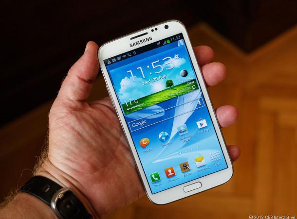Samsung vende 1 millón de Galaxy Note 2 en Corea del Sur